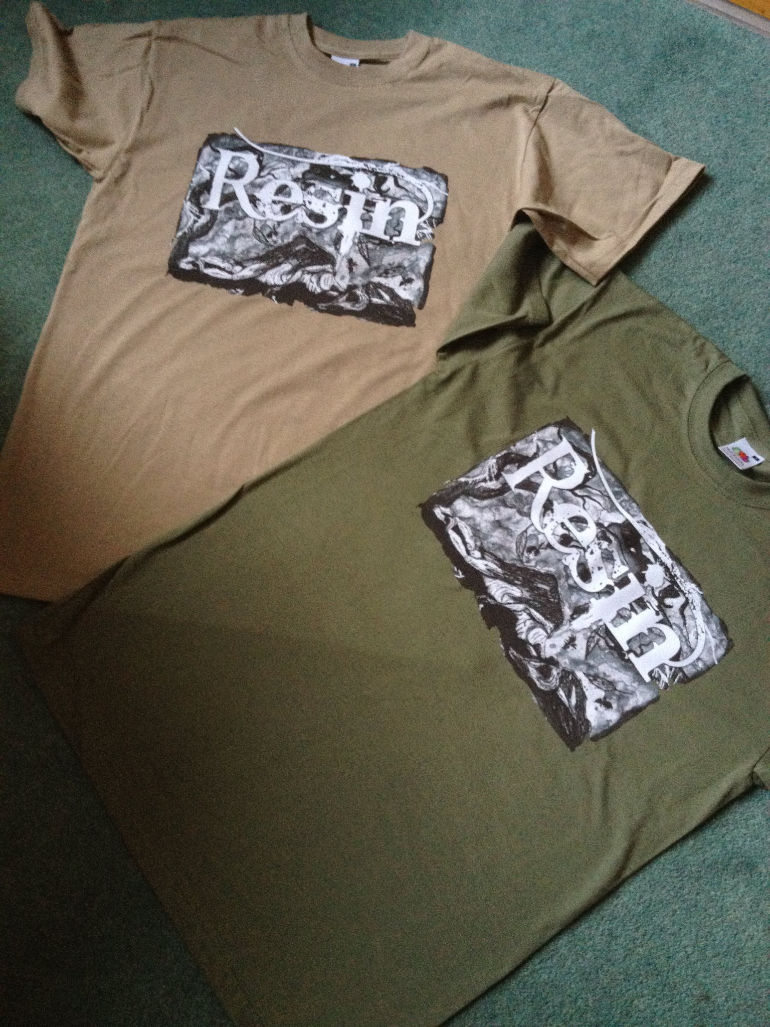 Resin Band T Shirts July 2012