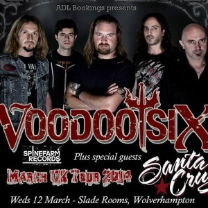 voodoo six slade rooms